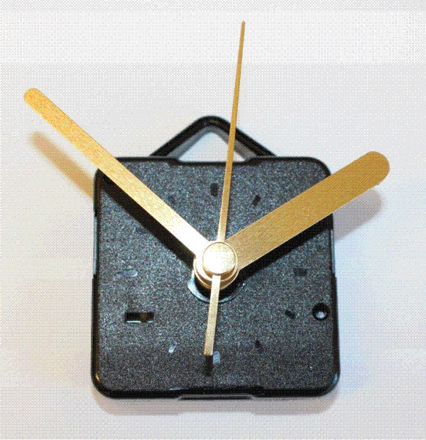 Clock Movement with Hands