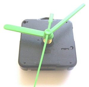 CD Clock Movement with Hands