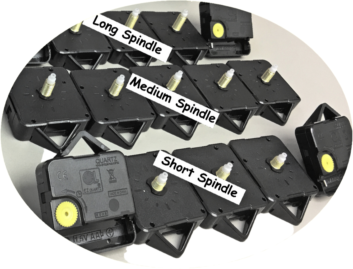 EZ Quartz Sweep Clock Movements